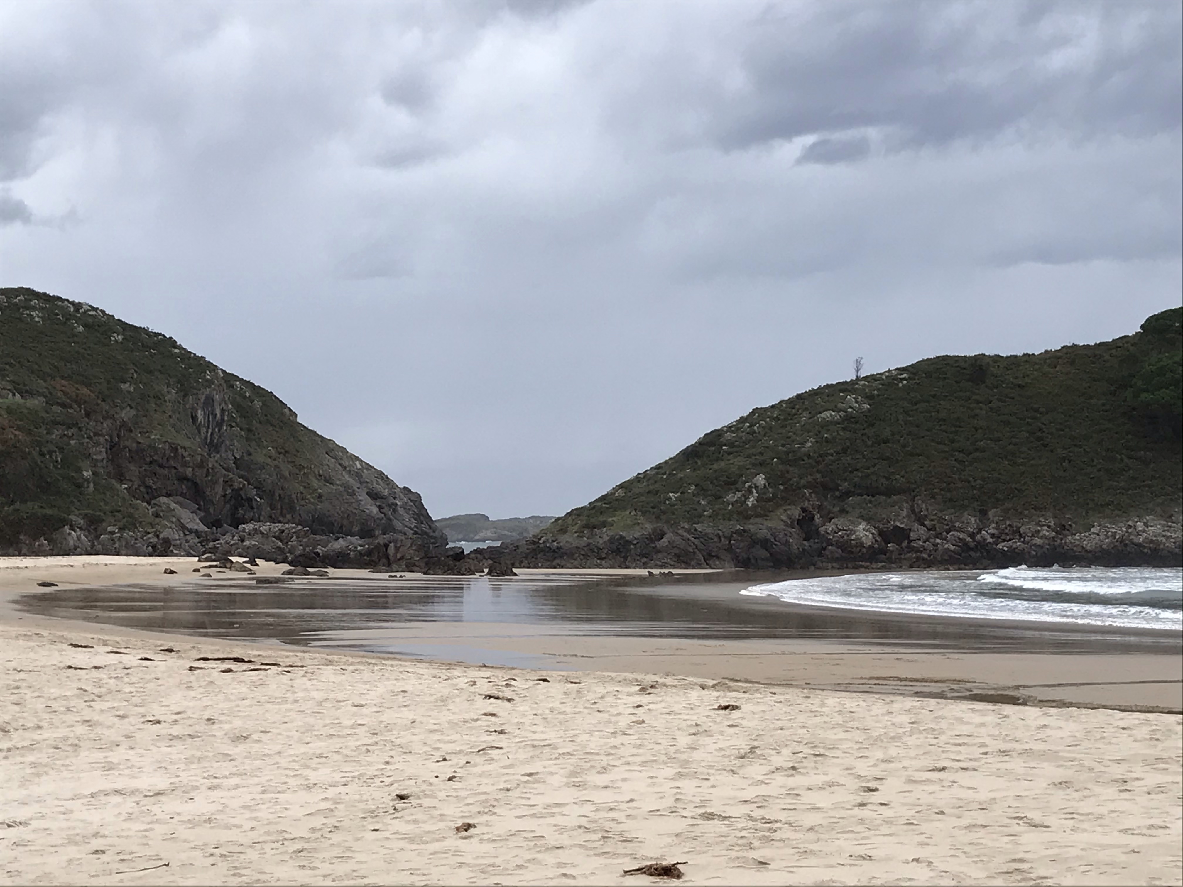 Playa de Barru, Asturias, nov 2019